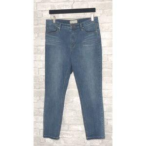 Free People |  Skinny Straight Hi-Rise Jeans